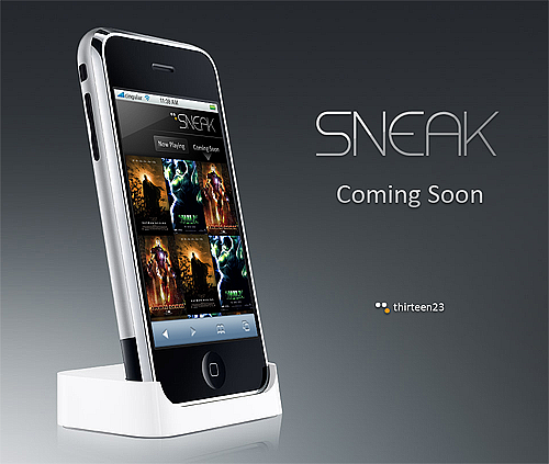 Sneak :: A movie discovery concept